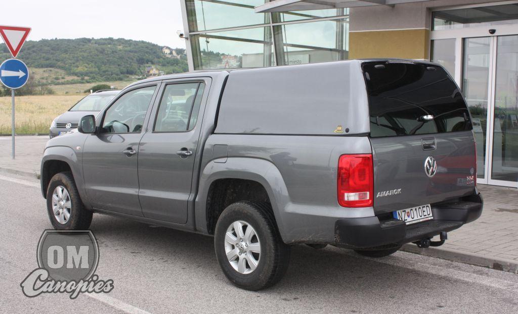 VW AMAROK pick-up s hardtopem - nástavbou model MK I. od OM Canopies ... & Offroadman - VW Amarok Hardtops OMC Mk.I